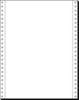 sigel DIN-Computerpapier endlos, A4 Hochformat, 70g/qm, 2000 Streifen
