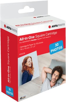 AgfaPhoto All-in-One Square Cartridge (ASQC30)