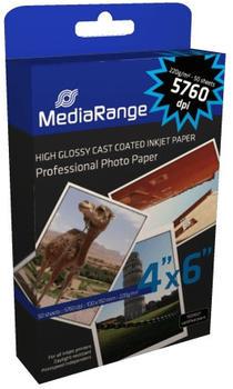 MediaRange Photopapier, hochglänzend, 220g/qm, 50 Blatt (MRINK104)