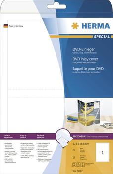 Herma DVD-Einleger, 273 x 183 mm, weiß (5037)