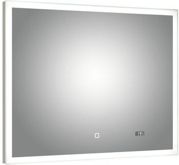 Pelipal Lichtspiegel mit Uhr Filo Rustico 70x90cm (980.839022)