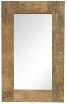 vidaXL Mirror Mango Wood 50 x 80 cm