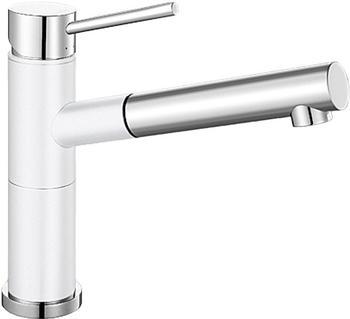 Blanco Blancoalta-S Compact (Silgranit-Look Weiß/Chrom, Hochdruck)