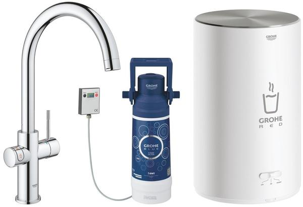 GROHE Red Duo chrom mit Boiler M (30083001)