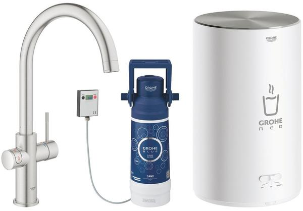 GROHE Red Duo supersteel mit Boiler M (30083DC1)