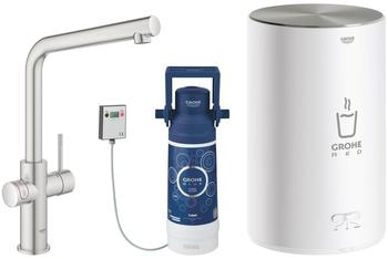 GROHE Red Duo supersteel mit Boiler M (30327DC1)