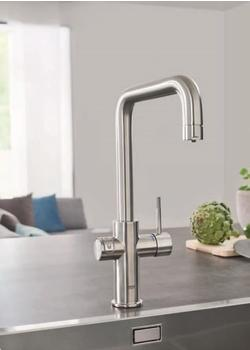 GROHE Blue Home Starter Kit U-Auslauf supersteel (31456DC0)