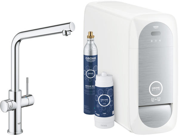 GROHE Blue Home Starter Kit L-Auslauf chrom (31454001)