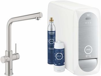 GROHE Blue Home Starter Kit L-Auslauf supersteel (31454DC1)