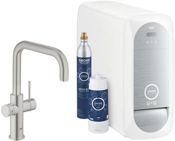 GROHE Blue Home Starter Kit U-Auslauf supersteel (31456DC1)