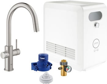 GROHE Blue Professional Starter Kit Supersteel ( 31325DC2)