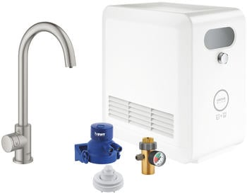 GROHE Blue Professional Mono Starter Kit Supersteel ( 31302DC2)