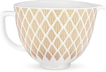 KitchenAid Keramikschüssel Gold Conifer (5KSM2CB5PGC)
