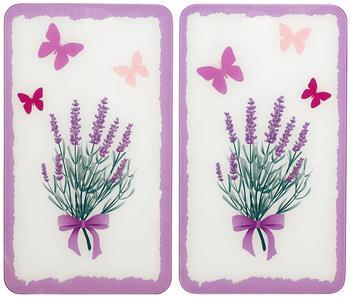 Wenko Abdeckplatten 2er Set Lavendel