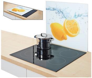 Zeller Herdabdeckplatte Lemon Splash