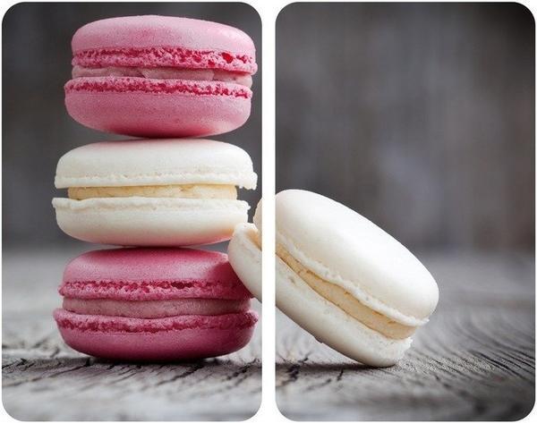 Wenko Abdeckplatten 2er Set Macarons