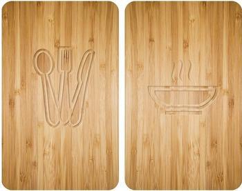 Wenko Abdeckplatten 2er Set Holz