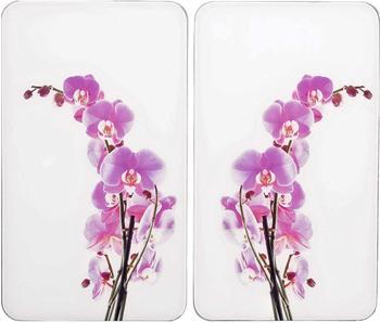 Wenko Abdeckplatten 2er Set Orchideenblüte
