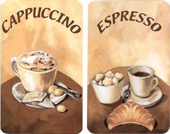 Wenko Abdeckplatten 2er Set Kaffee