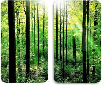 Wenko Abdeckplatten 2er Set Wald