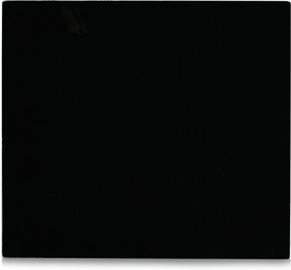 Zeller Herdabdeckplatte schwarz Glas