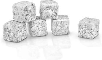 Mumbi Whisky Kühlsteine aus Granit 6er Set