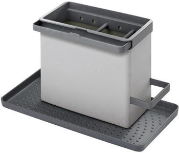 Metaltex Spülbecken-Organizer Tidytex grau