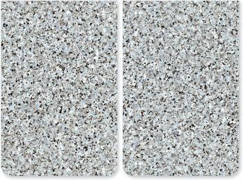 Wenko Abdeckplatten 2er Set Granit