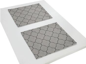 Adam Platzsets Indian Cortezada 30 x 40 cm schwarz