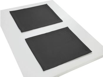 Adam Platzsets Uni Collection Light 30 x 40 cm schwarz