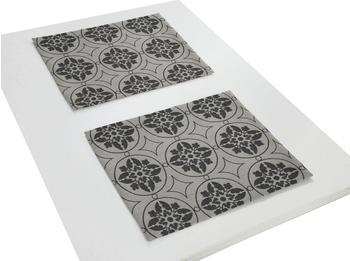 Adam Platzsets Romantic Puligny 30 x 40 cm schwarz