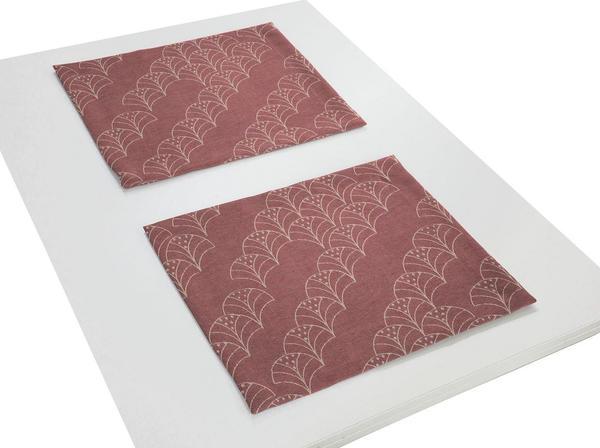 Adam Platzsets Argentinian Criolla 30 x 40 cm rot
