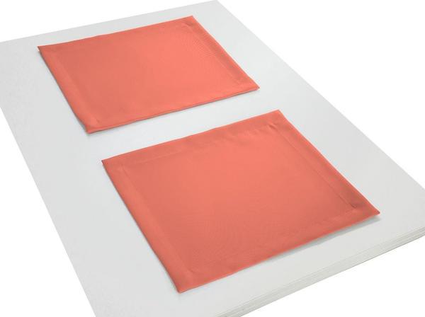 Adam Platzsets Uni Collection Light 30 x 40 cm orange