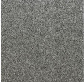 daff Tischset / LittleSet flannel mel. 33 x 33 cm (grau)
