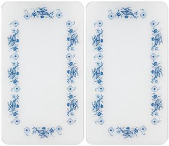 wenko-abdeckplatten-2er-set-blaue-rankblueten