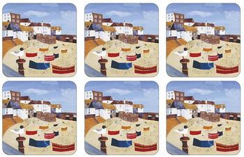 Pimpernel St Ives Windbreak Glasuntersetzer 6er Pack Multi