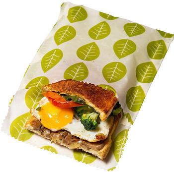 Nuts Pflanzenwachstuch Snack- und Sandwichbeutel 2er-Set