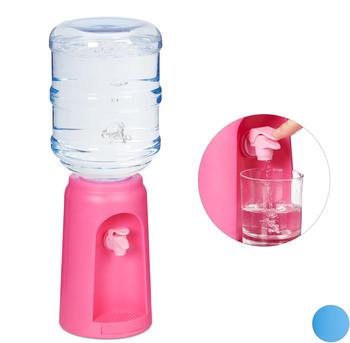 relaxdays-wasserspender-mit-tank-pink