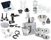 5 Küchenmaschinen mit Zubehör in der Praxis getestet