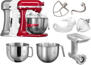 KitchenAid Heavy Duty 1.3 HP 5KSM7591X EER empire rot