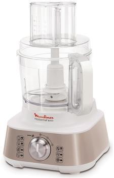 Moulinex Küchenmaschine fp648h10(Silber Weiß Edelstahl)