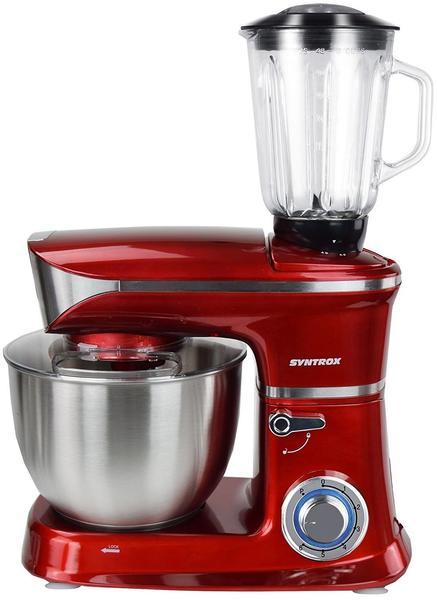 Syntrox Küchen-Chef KM-6.5L De Luxe red