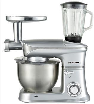 Syntrox Küchen-Chef KM-6.5L De Luxe silver