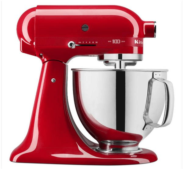 KitchenAid 5KSM180HESD Queen of Heart Passion Red
