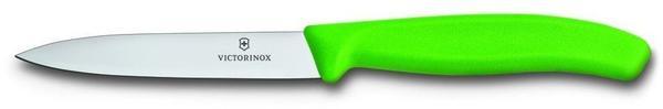 Victorinox SwissClassic Gemüsemesser mittelspitze Klinge 10 cm grün (6.7706.L114)