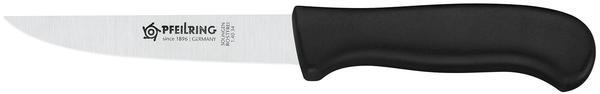 Pfeilring Wurst-/Haushaltmesser, rostfrei, Kunststoffgriff, schwarz
