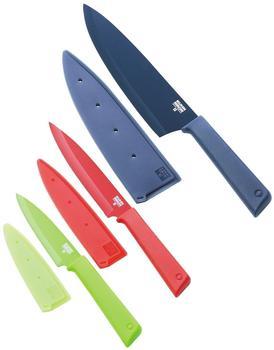 Kuhn Rikon Colori+ Prep Essential Messerset 3 tlg.