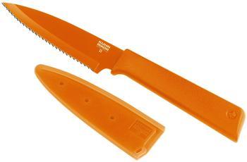 Kuhn Rikon Colori+ Rüstmesser Gezackt ; Farbe: Orange ; Messerlänge: 328 mm ; 26624