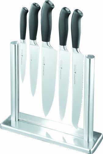 Felix Platinum 5 teiliges Messerset mit Ständer