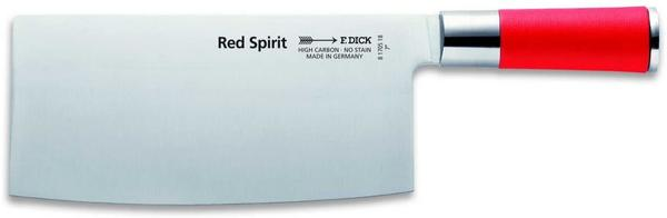 Friedr.Dick Red Spirit chinesisches Kochmesser Chopping 18 cm